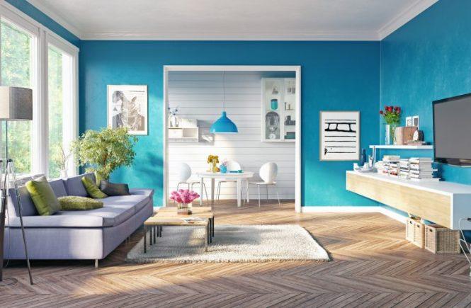 Agar suasana di Exclusive Residence CBD terlihat lebih hidup, selain mengubah interiornya, Anda pun bisa mengubah warna catnya.