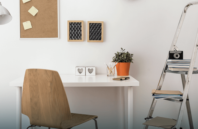 ruang kerja nyaman